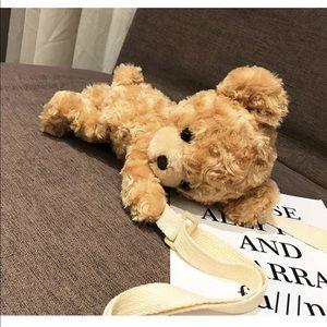🍁 Teddy bear crossbody bag